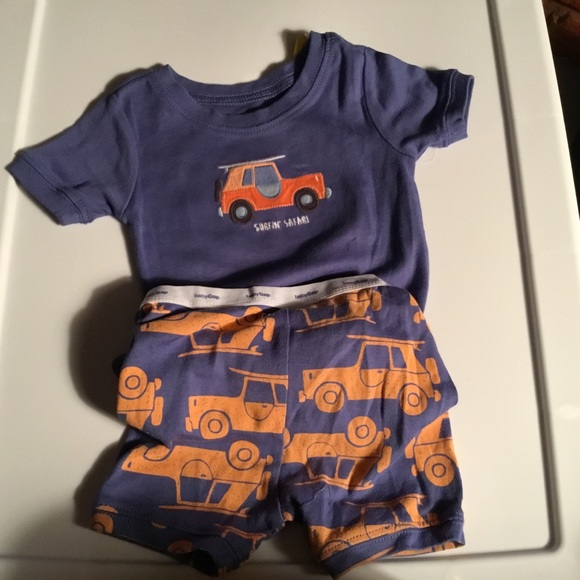 ea1ec435 GAP Pajamas | Boys Surfin Safari Summer Pjs 1824m | Poshmark